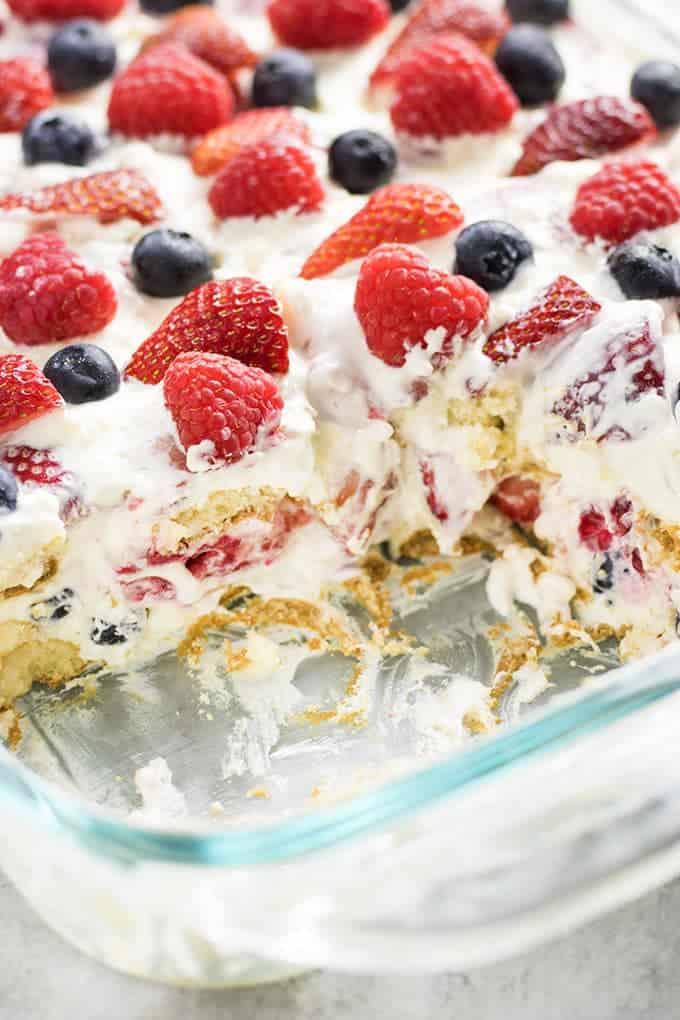 icebox cake no bake recipe