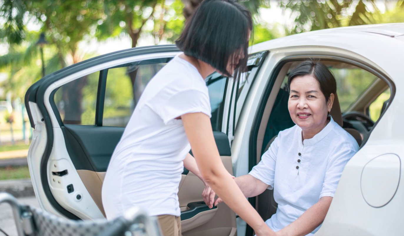 transportation services provided by Happier at Home